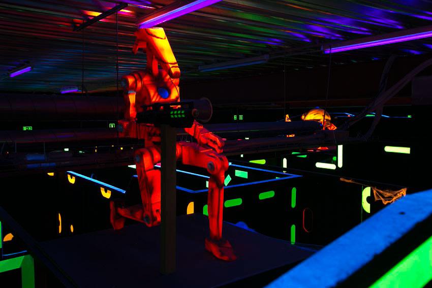 Laser Tag Star Wars en Belgique